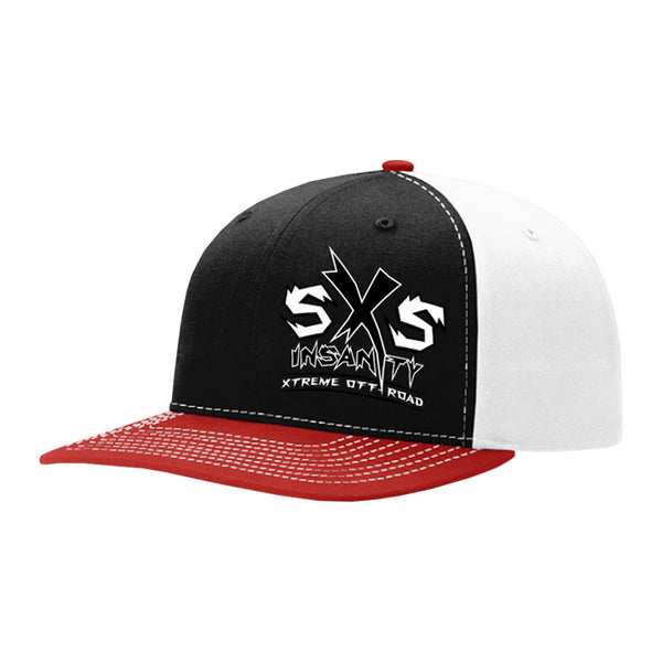 SxS Insanity Logo Trucker Twill Back Hat