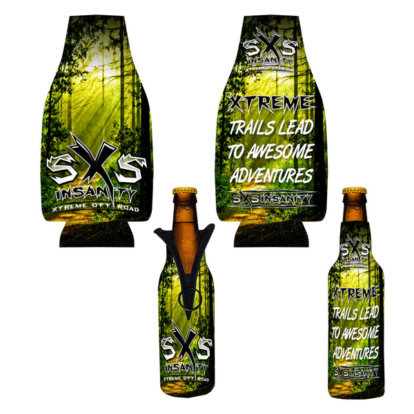 SxS Insanity 12oz. Bottle Coozie