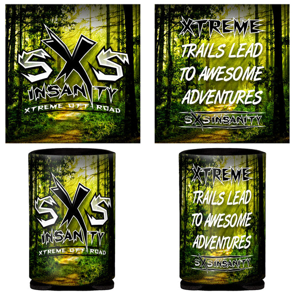 SxS Insanity 12oz. Can Coozie
