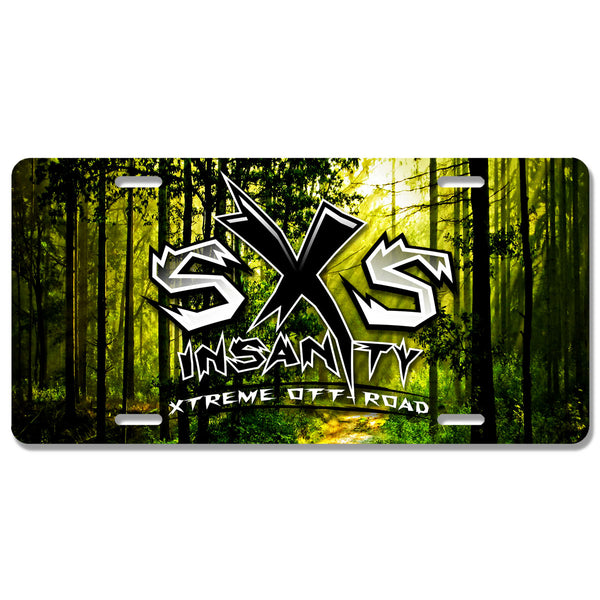 SxS Insanity License Plate
