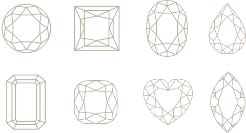 Diamond Shapes and Diamond Cuts