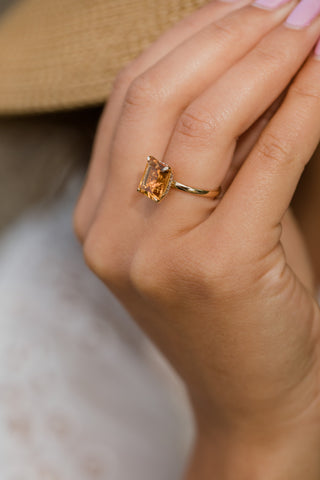 True Right Hand Ring - Citrine