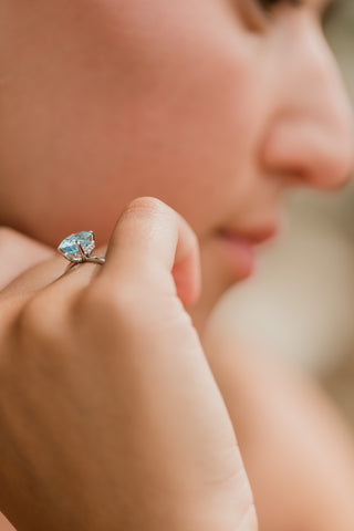 True Right Hand Ring - Aquamarine