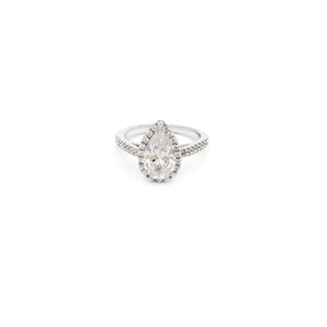 Calla Pear Engagement Ring