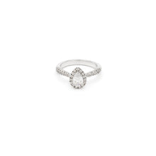 Load image into Gallery viewer, Cassica Pear Engagement Ring