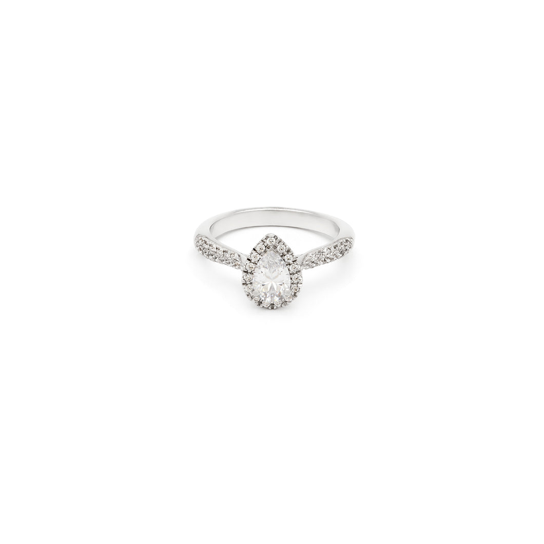 Cassica Pear Engagement Ring