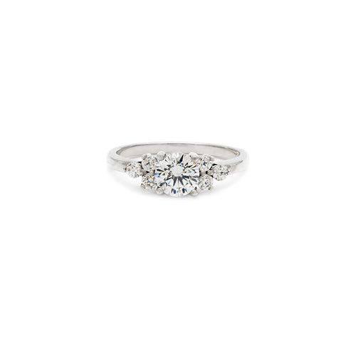 Daisy Engagement Ring