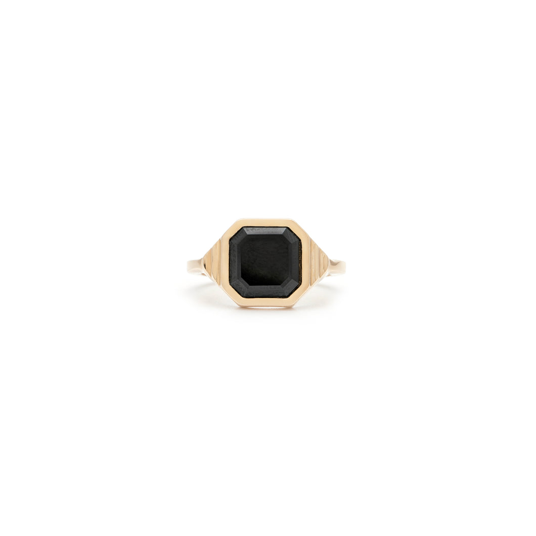 The August Diaries - Black Spinel Ring