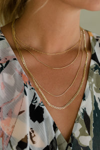 Barcelona Curb Chain Necklace