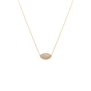 Endless Summer Diamond Pavé Necklace