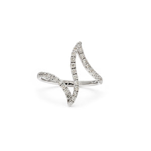 Balearic Waves Diamond Ring