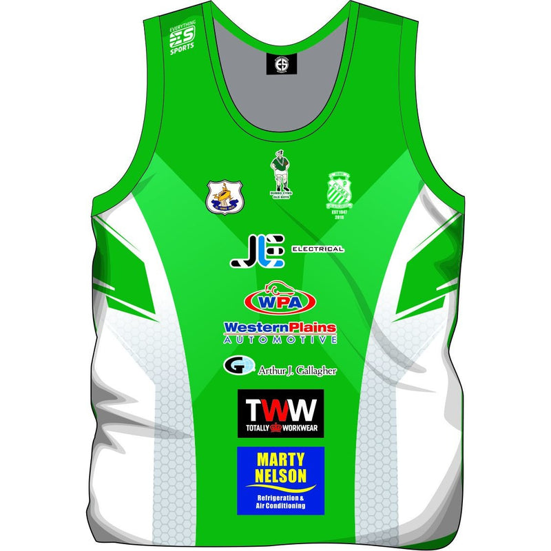 Dubbo Sublimated Singlets