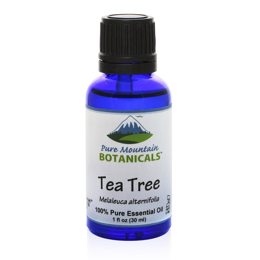 Tea Tree (Melaleuca Alternifolia) Essential Oil Additive for Face and Body Wash or Foot Soak - 100% Pure Natural & Kosher - 1 fl oz Bottle