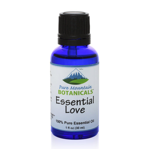 Pure Mountain Botanicals Essential Oil Essential Love Pure Essential Oil Blend - 100% Pure Natural & Kosher - 1 fl oz Bottle