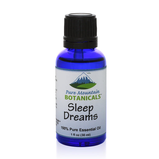 Pure Mountain Botanicals Essential Oil Sleep Dreams Essential Oil Blend - 100% Pure Natural & Kosher - 1 fl oz Bottle