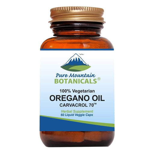 Oregano Oil Capsules - Vegan Caps – Now with 510mg Mediterranean Oil of Oregano
