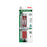 EnerGel RTX Retractable Liquid Gel Pen, (0.7mm) Metal Tip, Medium Line, Red Ink 2-Pk w/ Anniversary Edition Pen Black Ink