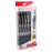 EnerGel RTX Retractable Liquid Gel Pen, (0.7mm) Metal Tip, Medium Line,0.7mm, Black Ink, 12-Pk Hanging Window Box