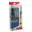 EnerGel RTX Retractable Liquid Gel Pen, (0.7mm) Metal Tip, Medium Line,0.7mm, Blue Ink, 12-Pk Hanging Window Box