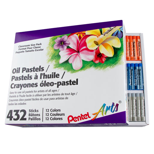 Oil Pastels, Set of 432 - Class Size box