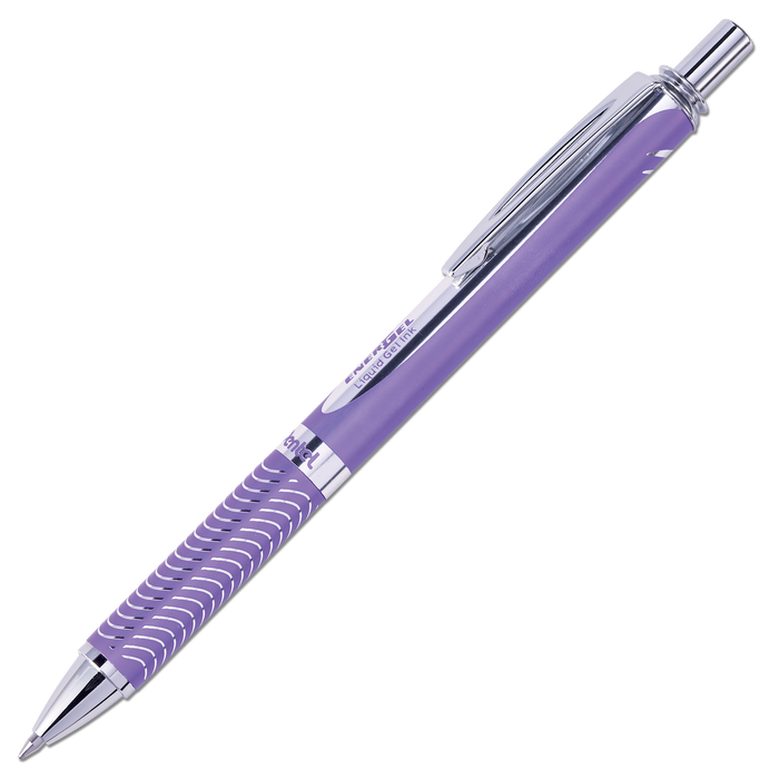 PANCAN Edition EnerGel Alloy Gel Pen - Violet Barrel with Violet Ink