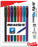 EnerGel Flash Liquid Gel Pens - 8-pack