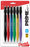 PRIME Mechanical Pencil (0.7mm) Assorted Barrel Colors (A/B/C/D/G/V), 6-Pk