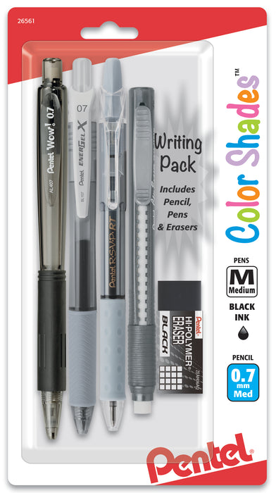 Color Shades Writing Pack - Black