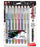 Sparkle Pop Metallic Gel Pen, (1.0mm) Bold Line, Assorted Ink 8-Pk