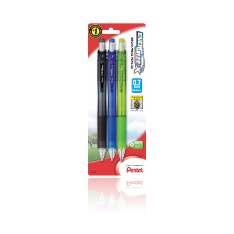 EnerGize-X™ Mechanical Pencils - Assorted 3 Pack