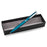 EnerGel Style Gel Pen, (0.7mm) Medium Line, Teal Blue barrel, Black Ink, Gift Box