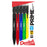 PRIME Mechanical Pencil (0.7mm) Assorted Barrels (2/A,2/B,2/C,2/D,2/G,2/V) Clear Dozen Box
