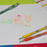 Solar Pop Neon Gel Pen, (0.6mm) Fine Line, Assorted Ink 8-Pk