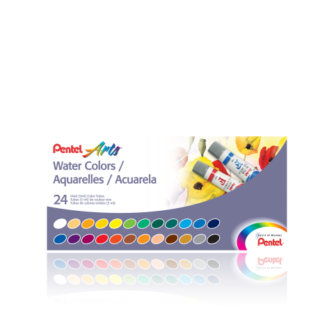 Water Colors, Set of 24