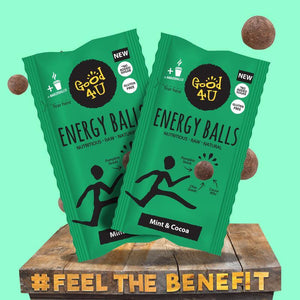 Mint & Cocoa Energy Balls 16x30g - Good4U Online