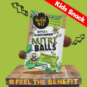 Apple & Blackcurrant Nutri Balls - Good4U Online