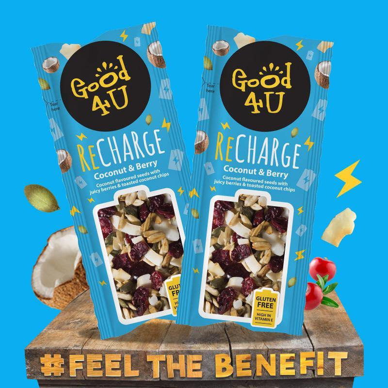 Recharge Coconut & Berry 20x30g - Good4U Online
