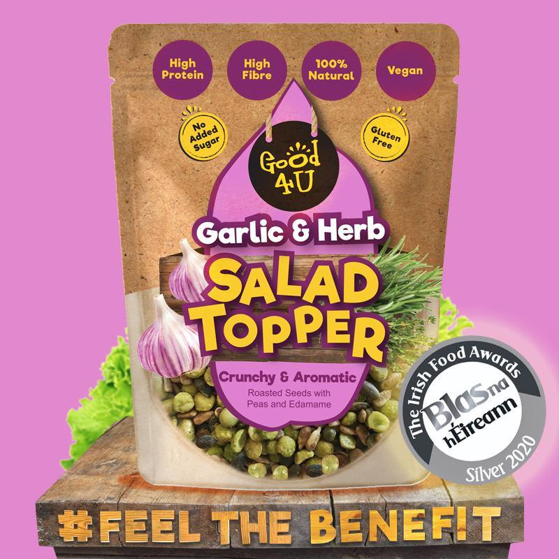 Salad Topper Garlic & Herb 8x125g