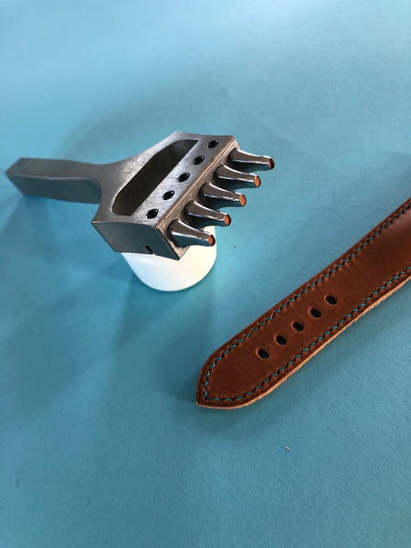 Watch Strap Punch - Oval