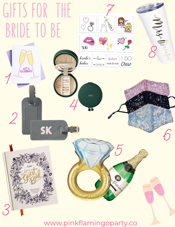 Pink Flamingo Part Co. Gift Guide: Bride to Be
