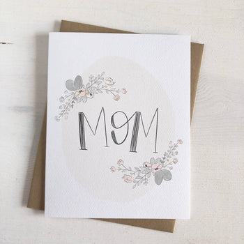 Floral Mom Greeting Card