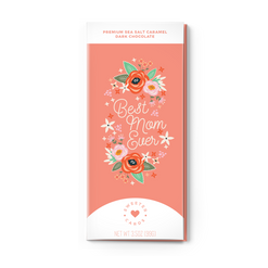 """Best Mom Ever"" Greeting Card and Chocolate Bar"