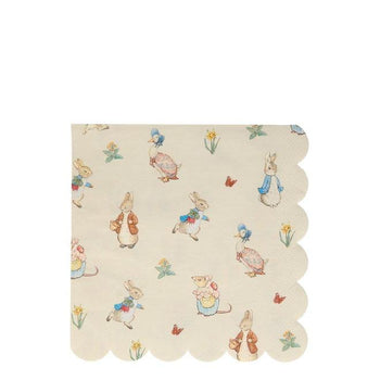Peter Rabbit and Friends Large Napkins