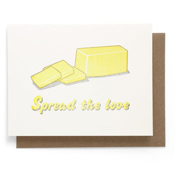 Spread the Love Greeting Card