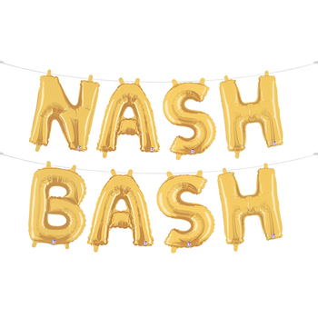 Nash Bash Balloon Garland
