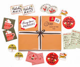 Primp Your Packages Holiday Sticker Set