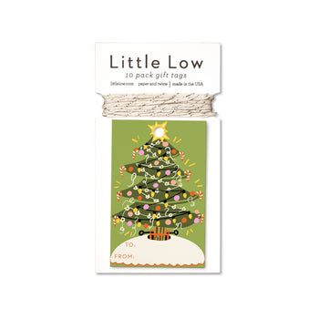 Tannenbaum Holiday Gift Tags