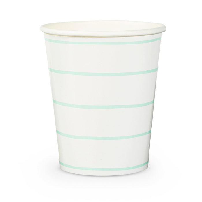 Mint Frenchie Striped Cup
