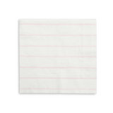 Blush Frenchie Striped Large Napkins