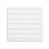 Mint Frenchie Striped Large Napkins